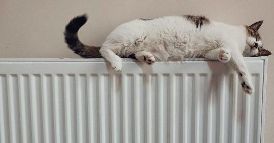 Smrt og billig varme med en moderne varmepumpe