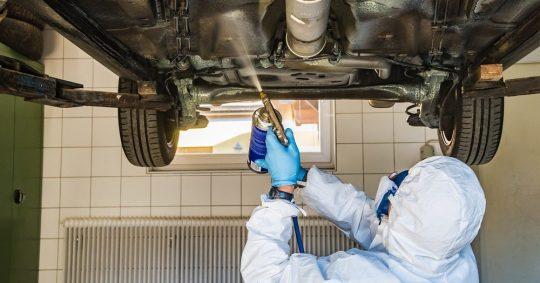 Auto antirust behandling og undervogns behandling af bil – hvorfor?